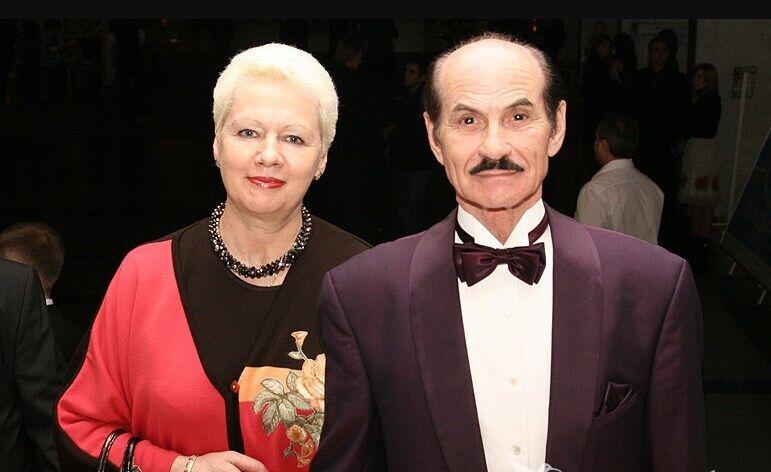 Григорий Чапкис с третьей супругой Аллой
