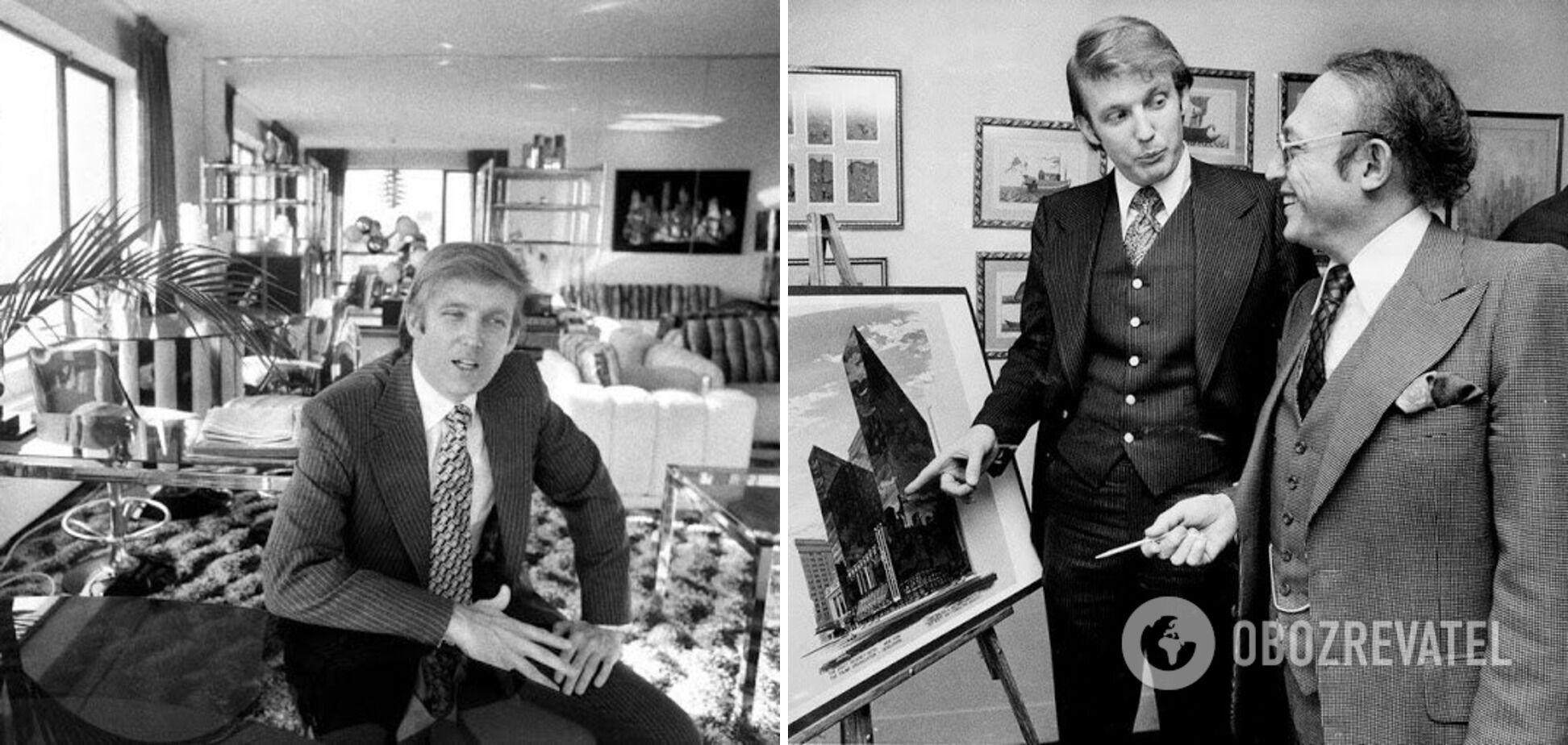 Трамп до політичної кар'єри був відомим багатієм в Америці