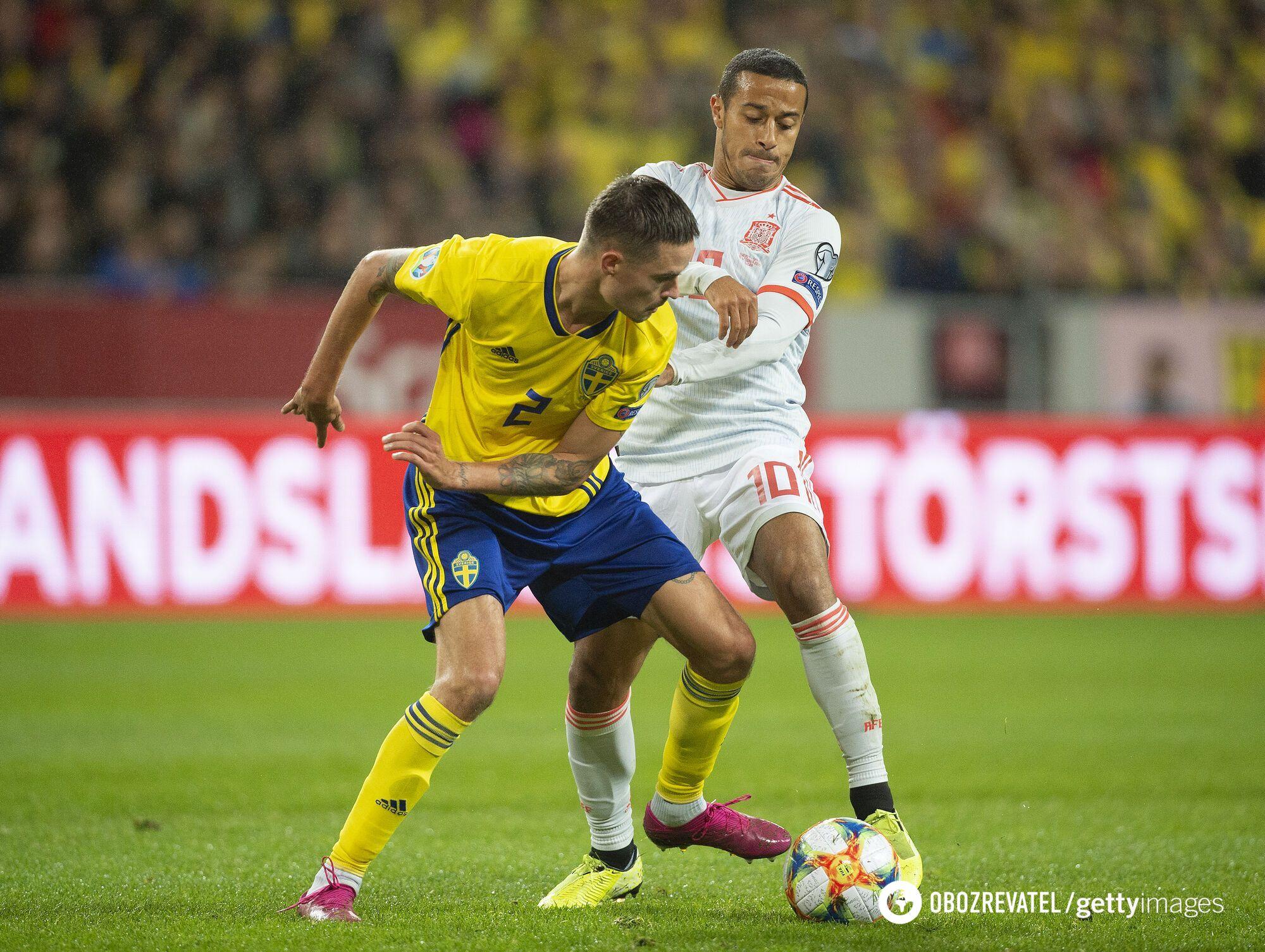 Матч Швеція - Іспанія у відборі на Євро-2020