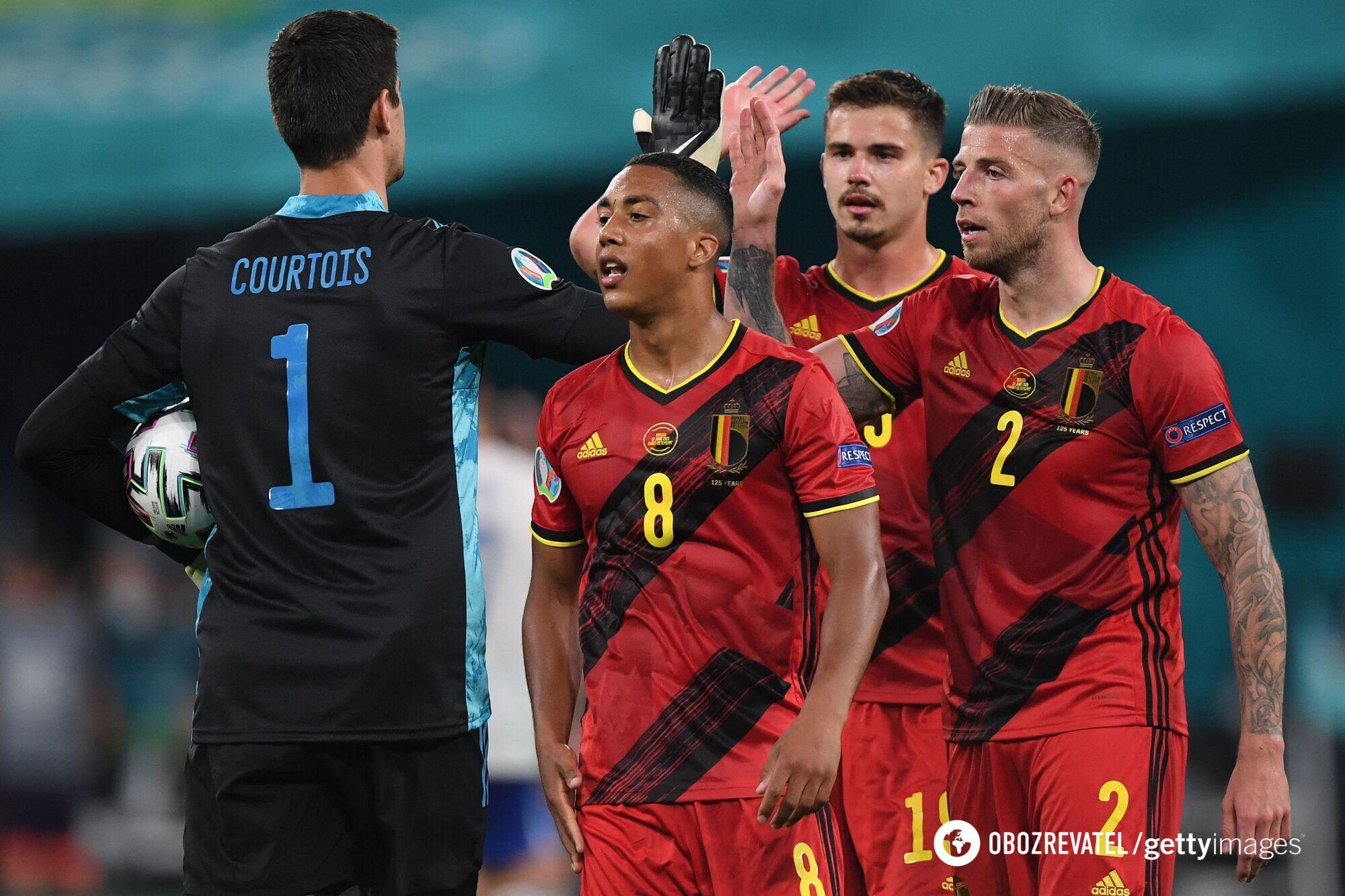 Бельгия не оставила шансов России
