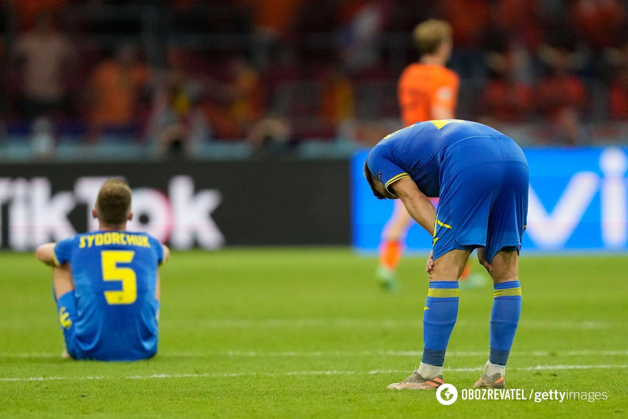 Украинцы обидно проиграли Нидерландам