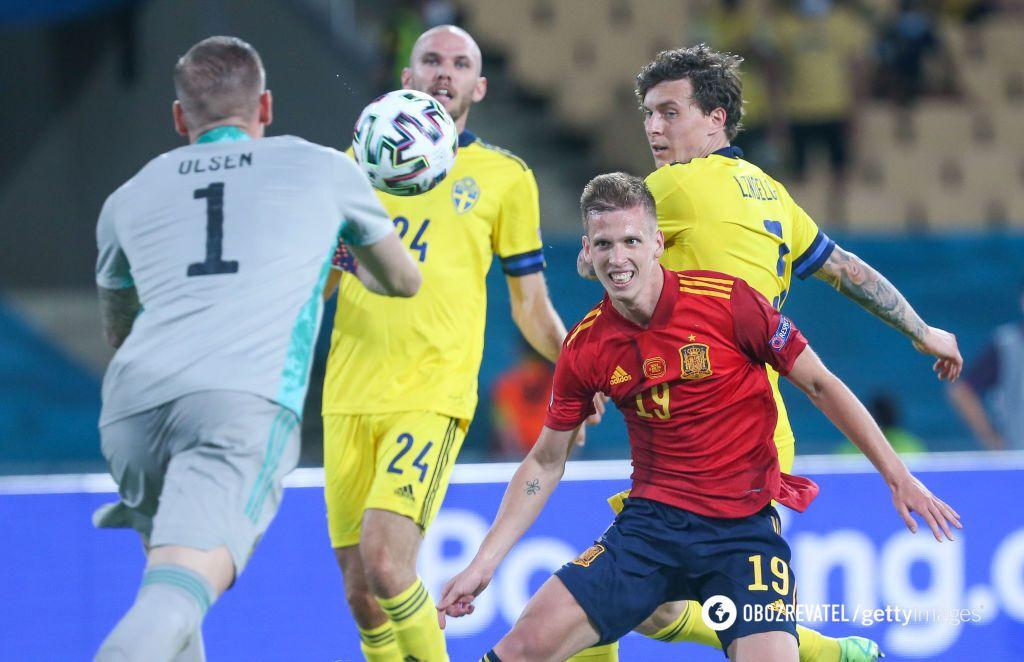 Испания и Швеция на Евро-2020