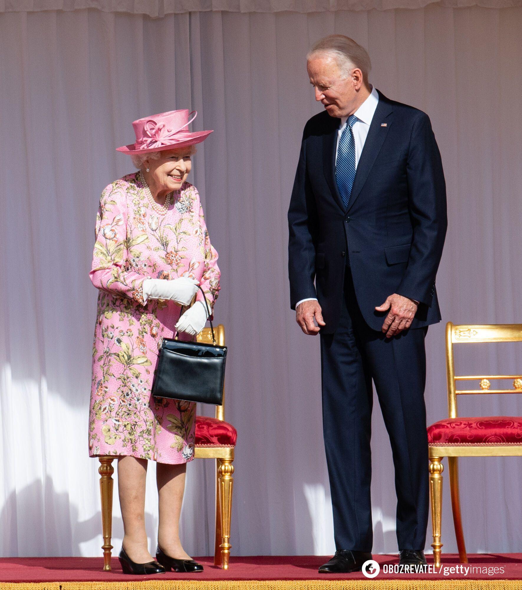 Елизавета II и Джо Байден