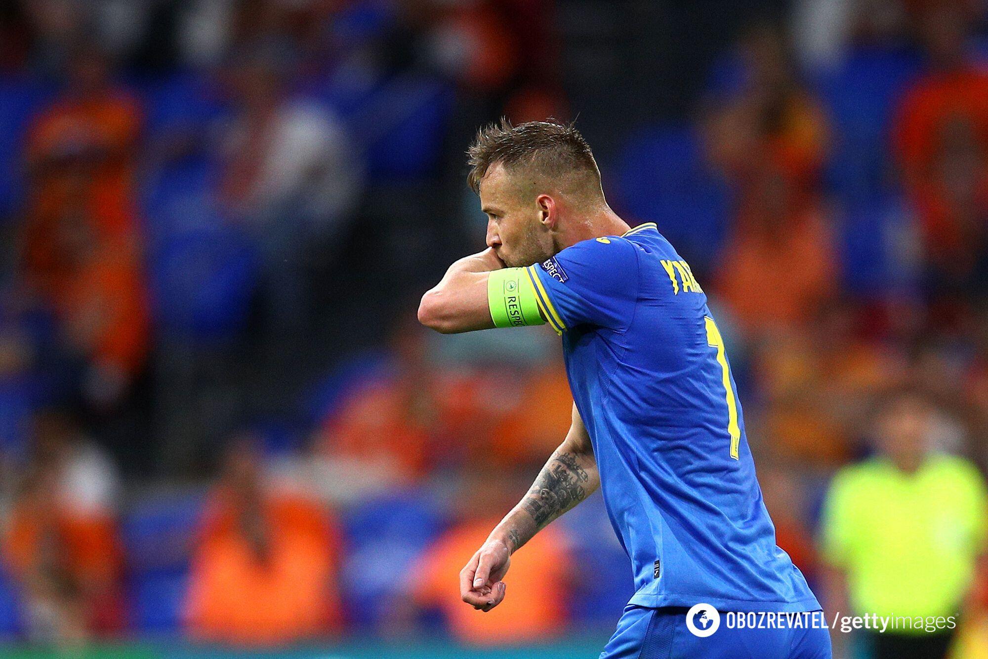 Андрей Ярмоленко забил гол Нидерландам.