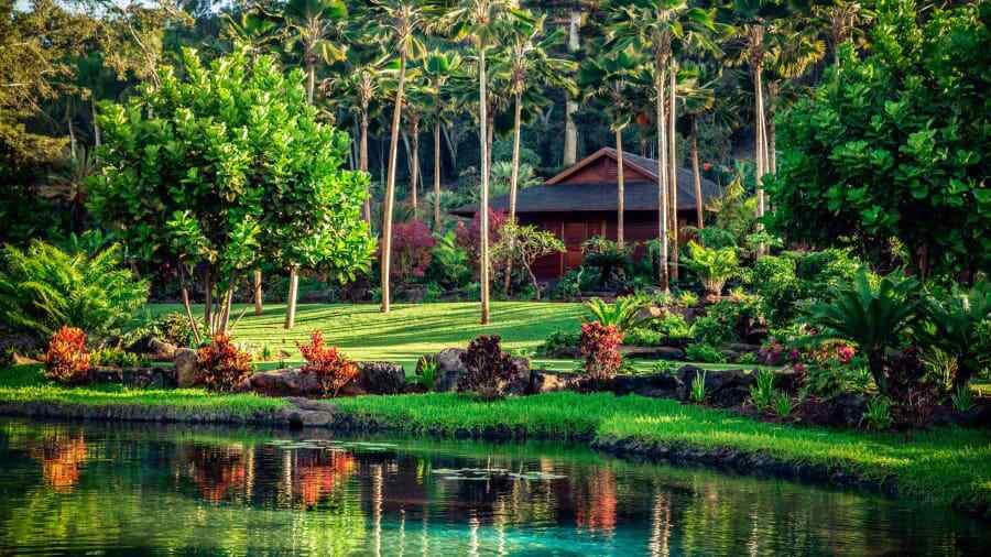 Сенсей Ланаи, курорт Four Seasons, Ланаи, Гавайи
