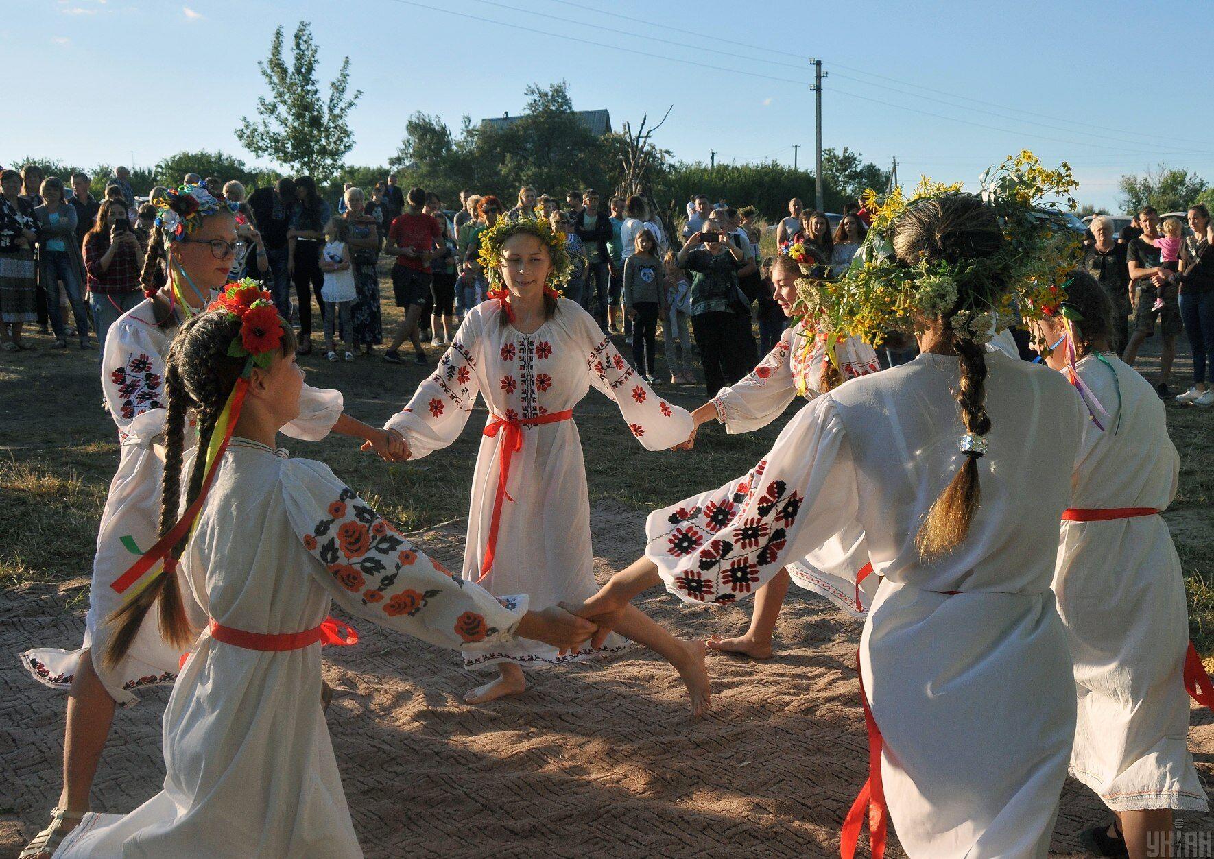 Ивана Купала традиционно отмечается массовыми гуляниями