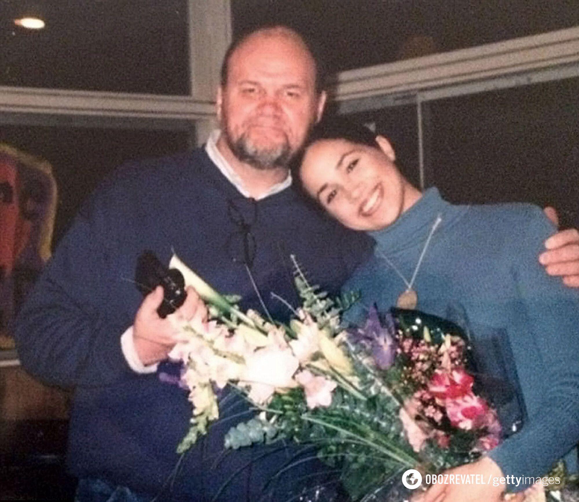 Томас Маркл з донькою Меган