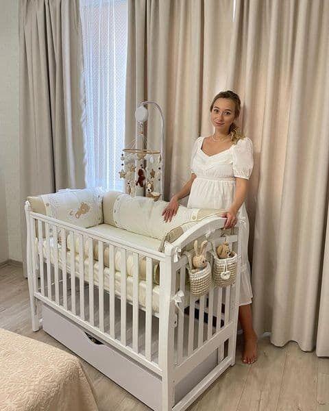 Екатерина Репяхова показала место для новорожденного