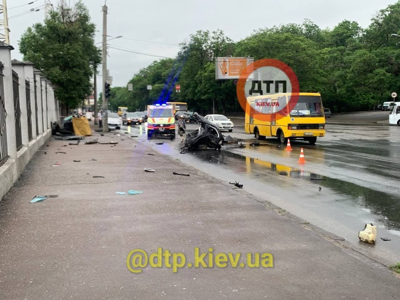 Наслідки аварії в Одесі