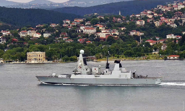 У Чорне море увійшли кораблі Британії й Нідерландів