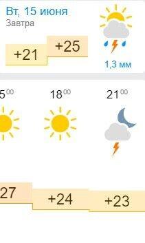 Прогноз погоды в Бердянске