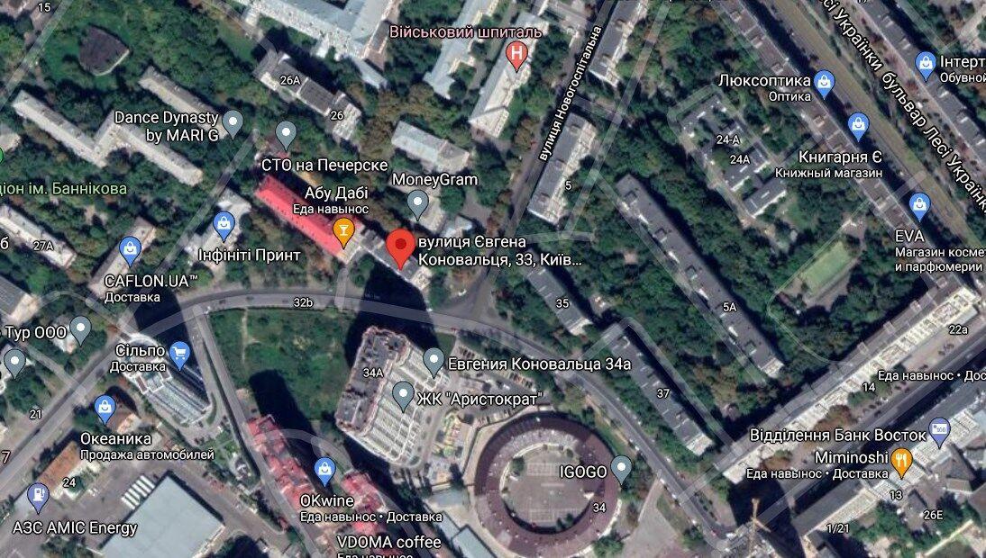 Групу злодіїв затримали на вул. Євгена Коновальця в Печерському районі Києва