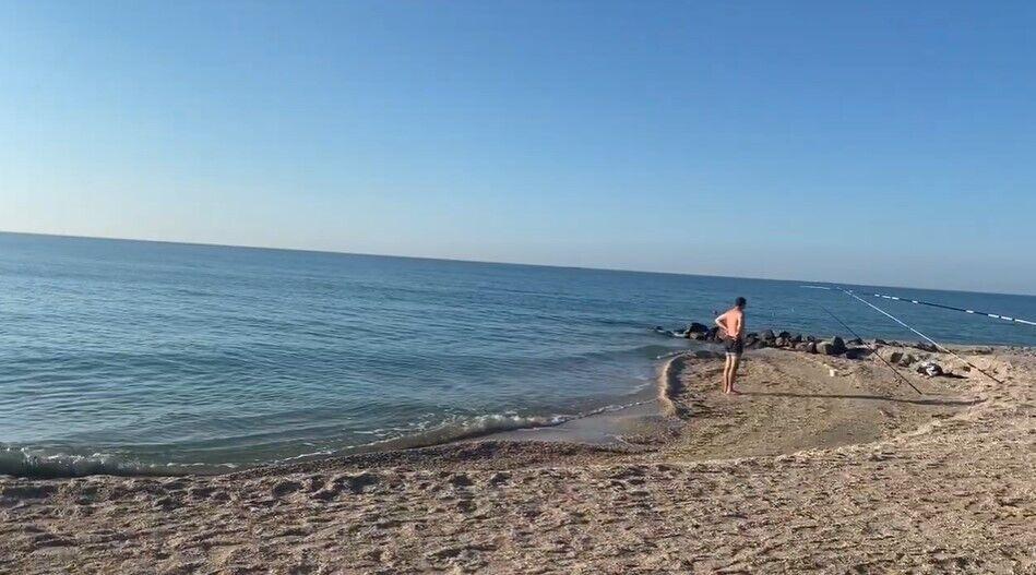 Пользователь показал море в Кирилловке.