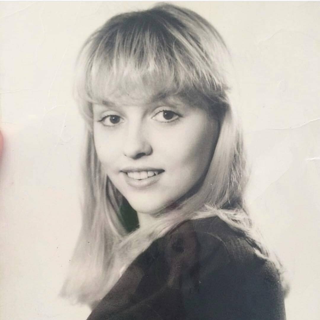 Оля Полякова у шкільні роки