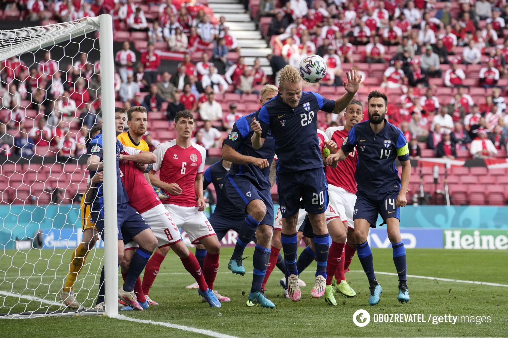 Фінляндія зуміла обіграти Данію.