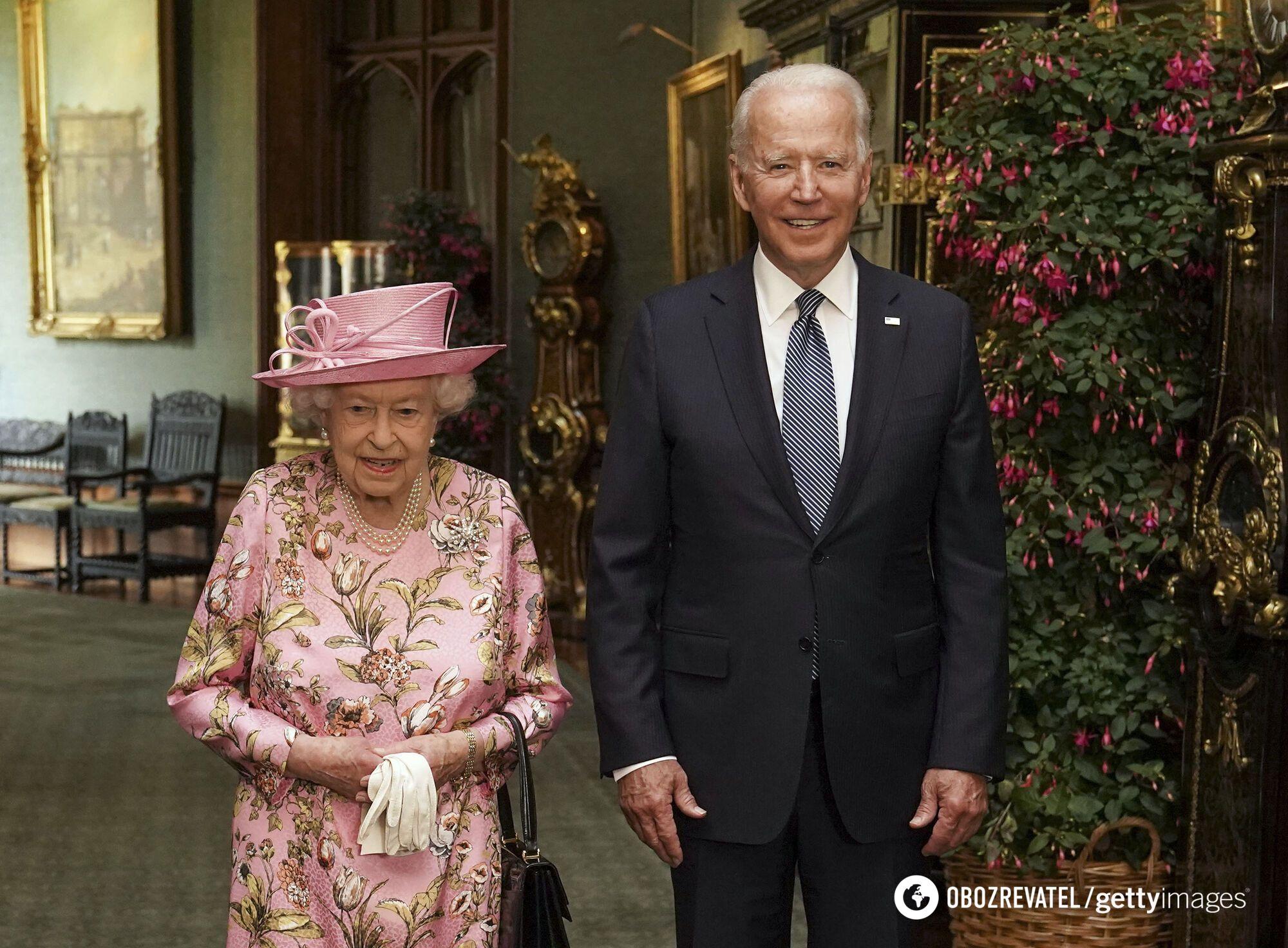 Елизавета II встретилась с президентом США.