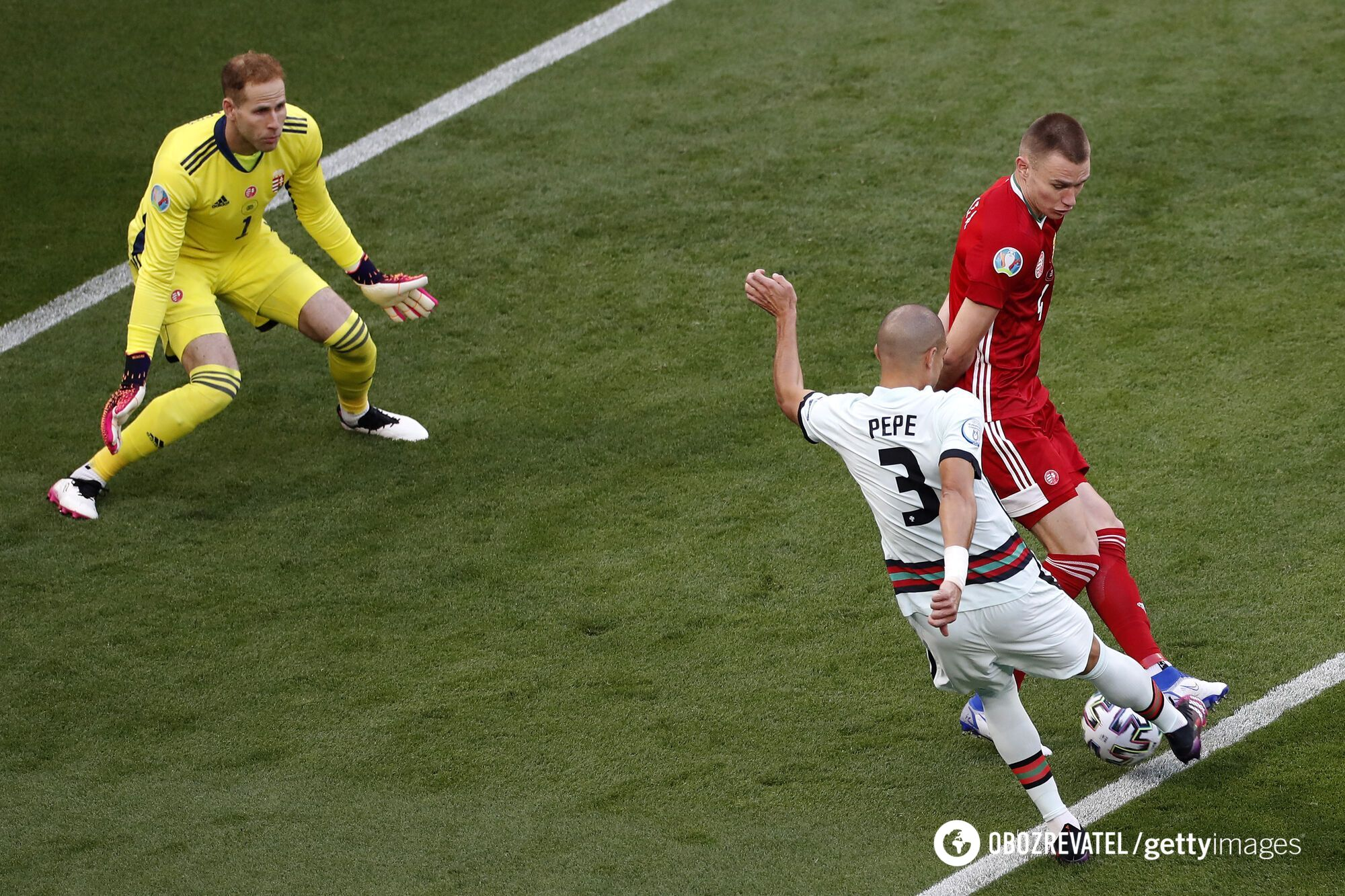 Сборная Португалии могла забить в концовке первого тайма.