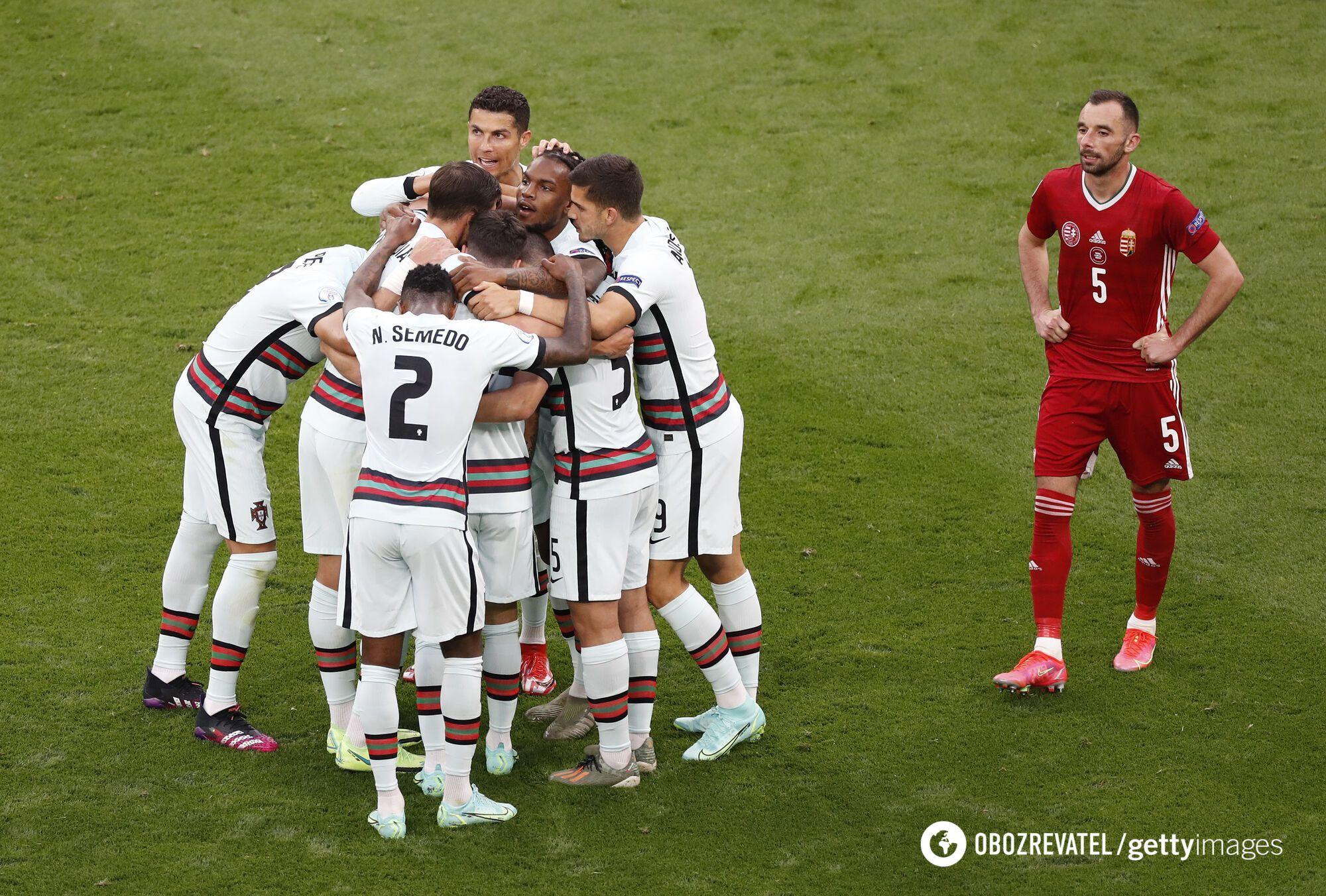 Португалия выиграла у Венгрии