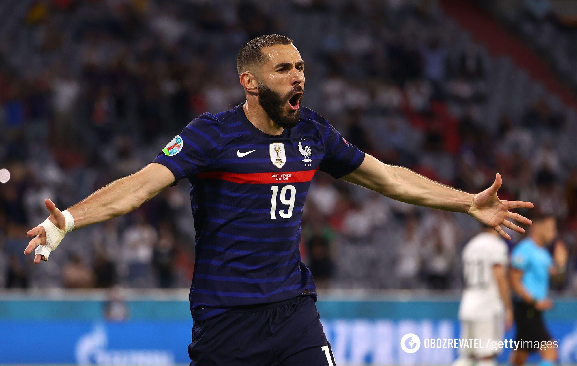 Карим Бензема недоволен отменой гола