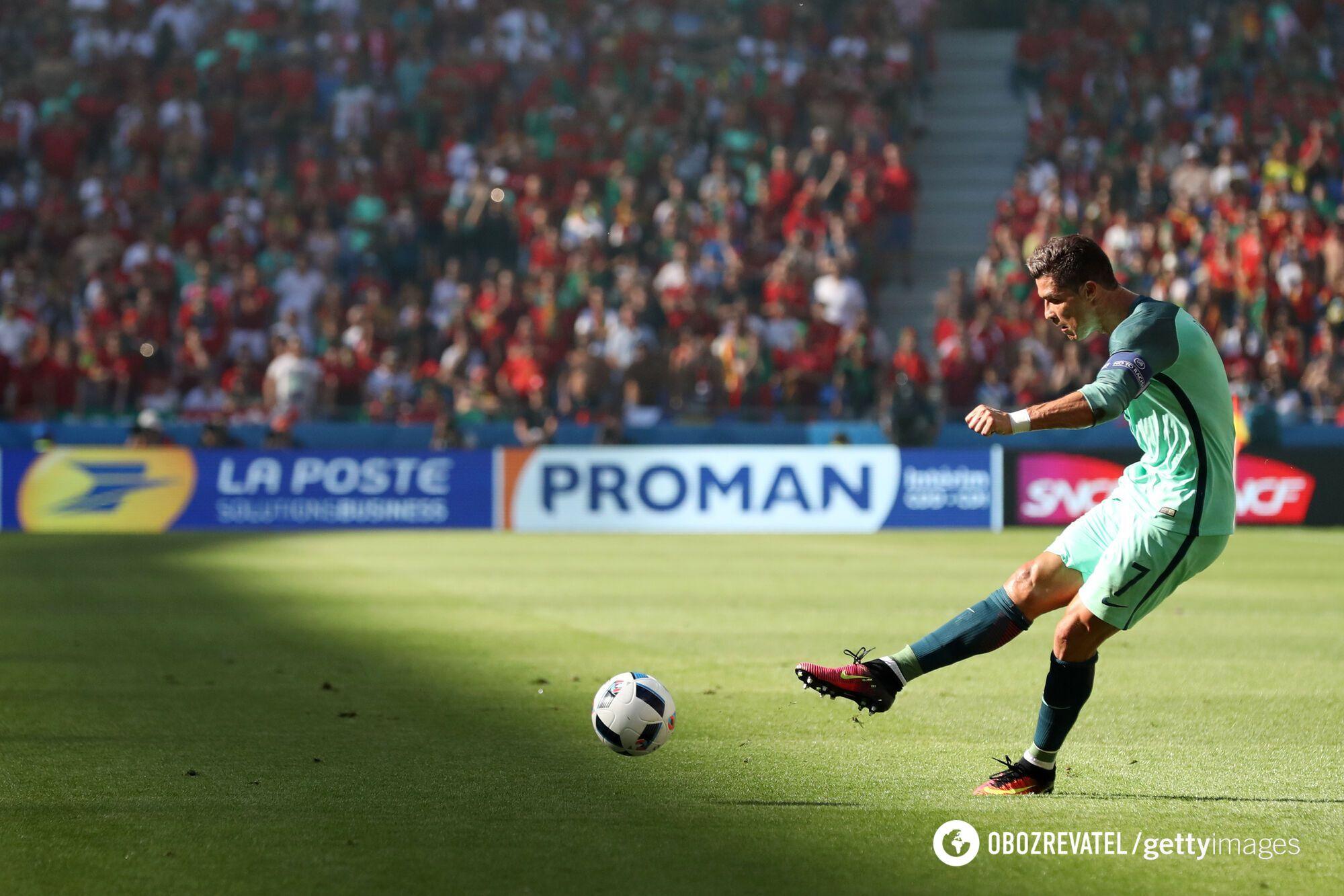 Роналду стал героем матча Евро-2016