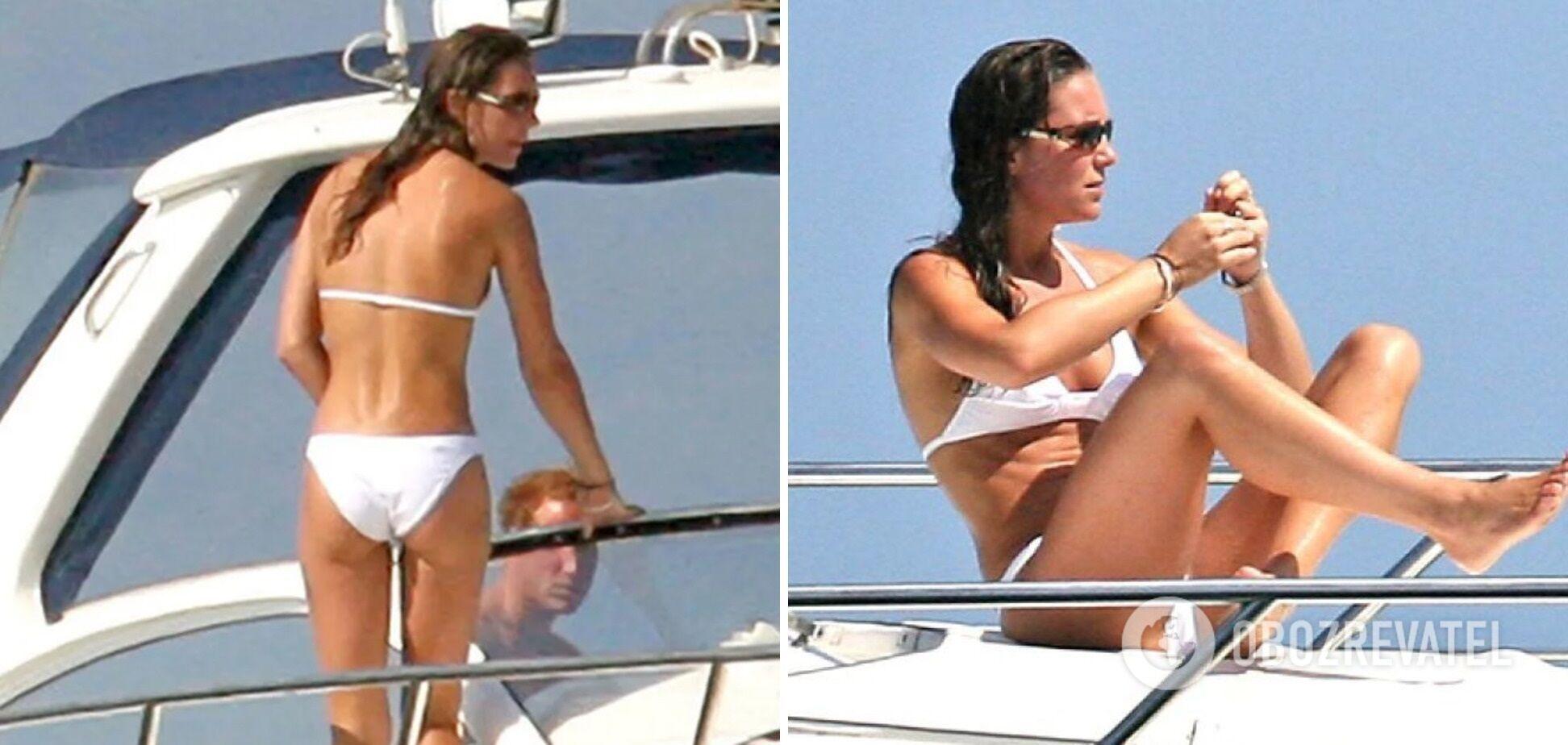 Кейт Миддлтон в купальнике в 2006 году.