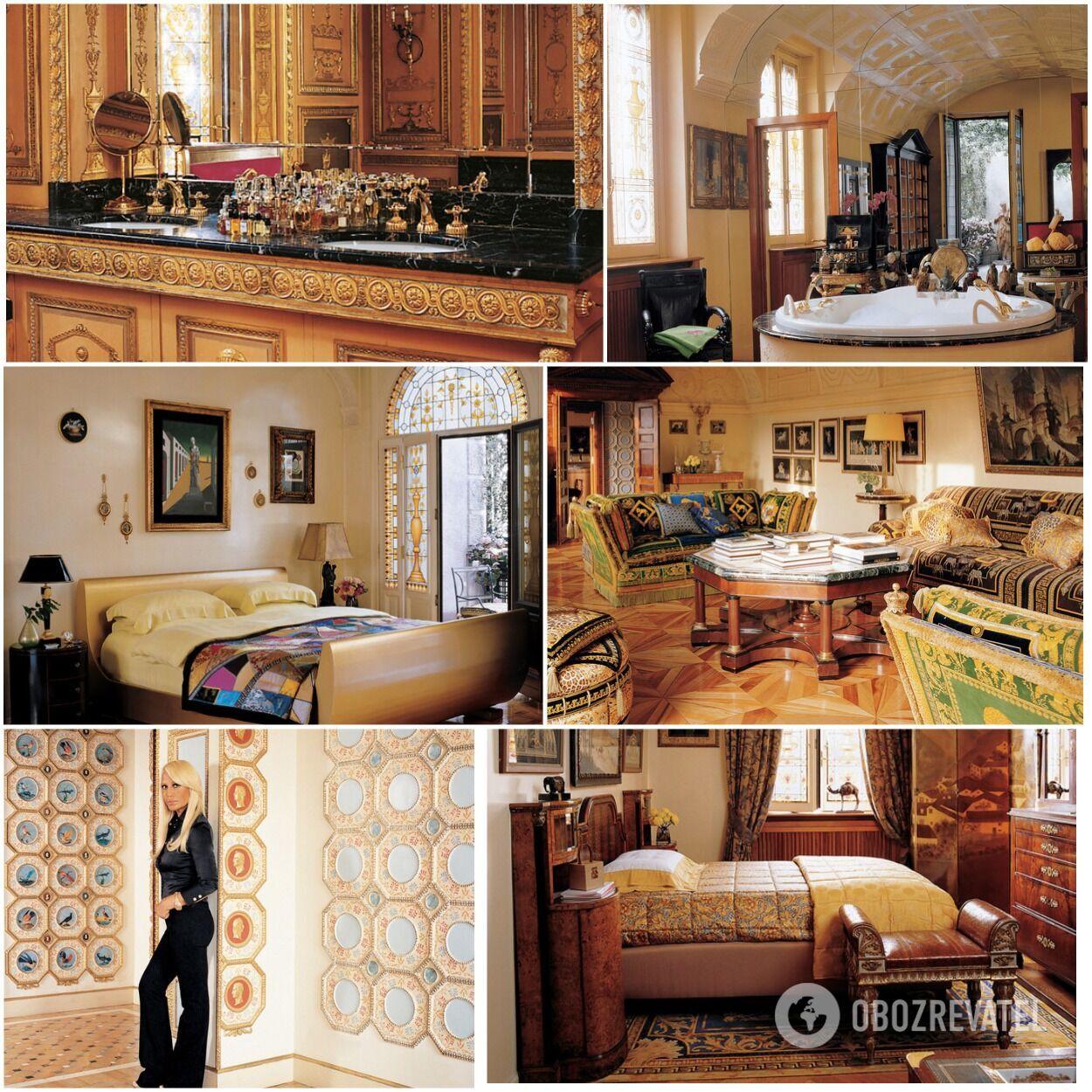 Ці апартаменти Донателла придбала разом із тодішнім чоловіком Полом Беком у 1986 році.