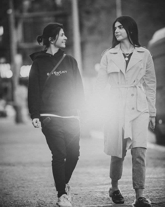 Українська продюсерка Нателла Крапівіна з донькою