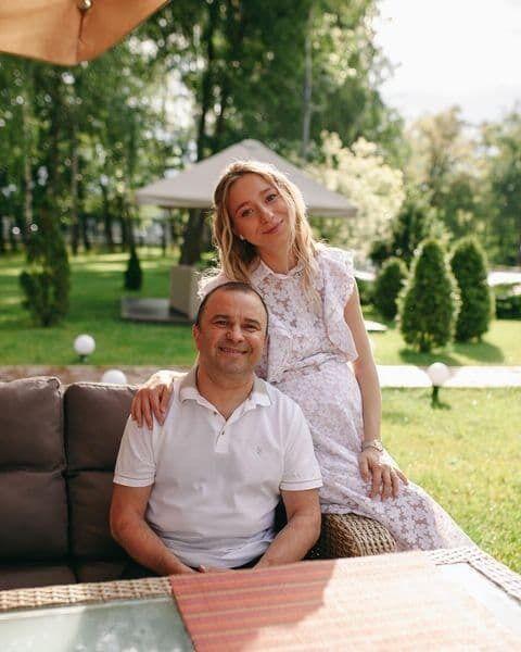 Віктор Павлік разом зі своєю дружиною