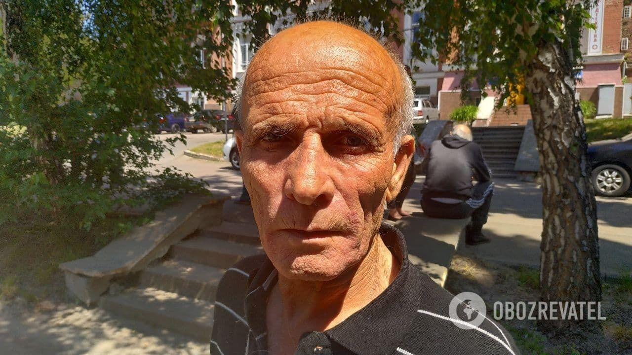 Іван Маслиган в Олександрівській лікарні в Києві