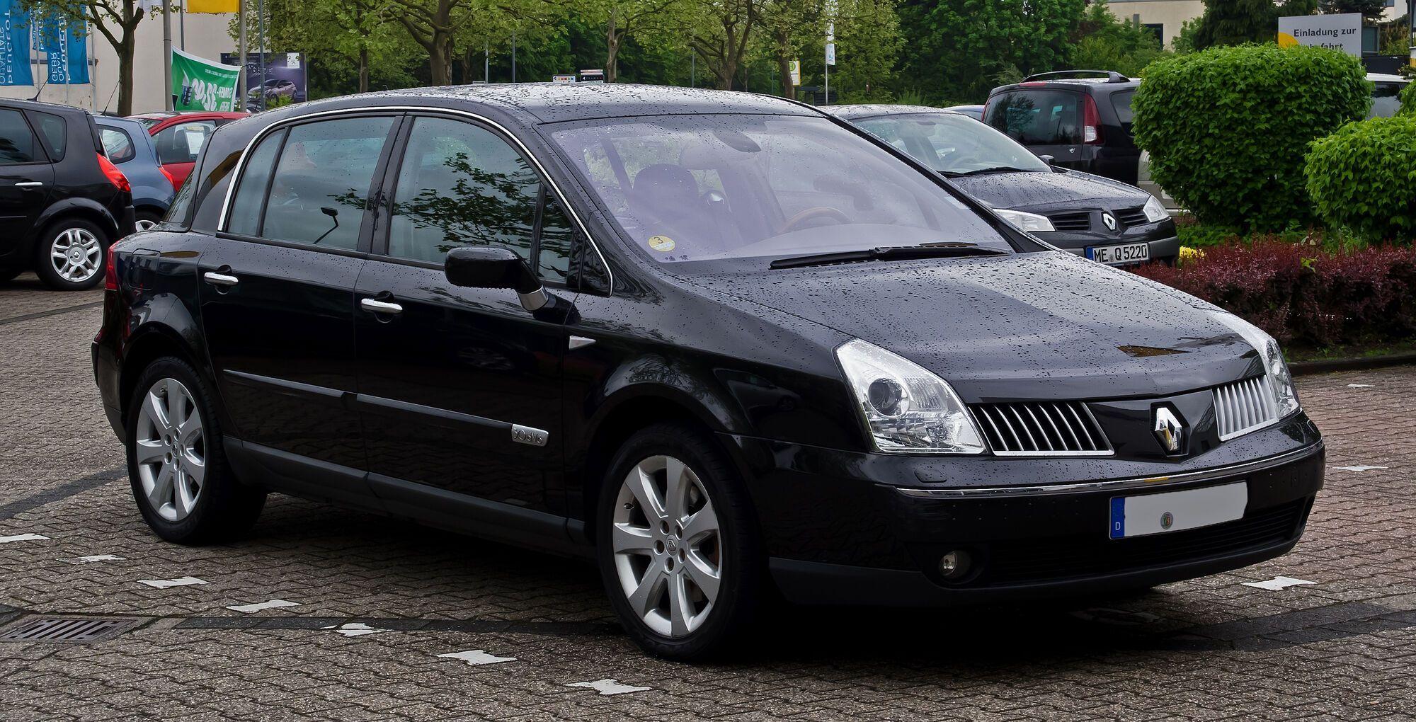 Брутальний зовнішній вигляд Renault Vel Satis