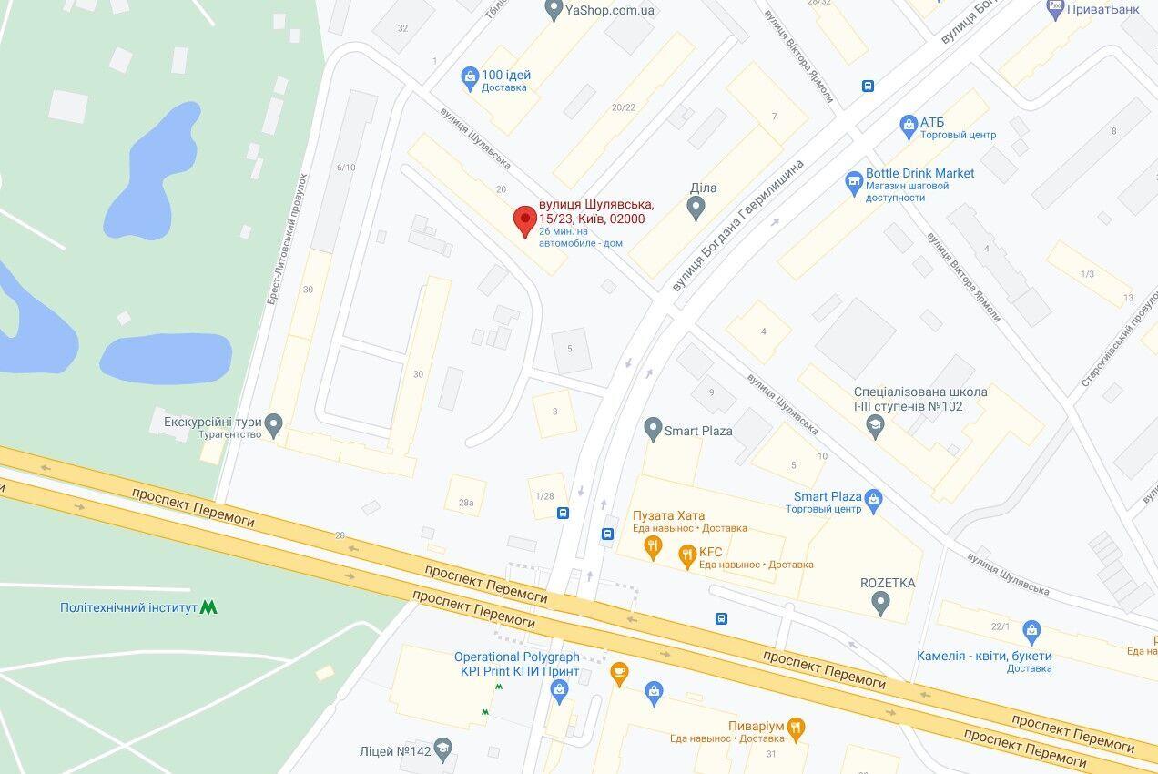 Тіло знайшли в сміттєзбірнику багатоповерхового будинку на вулиці Шулявській.