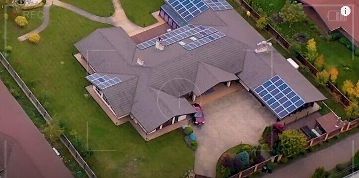 Дом Билык построен с солнечными батареями