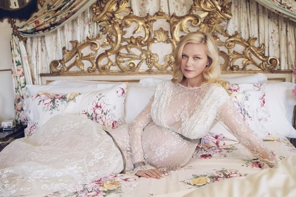 Известная актриса Кирстен Данст беременна во второй раз.