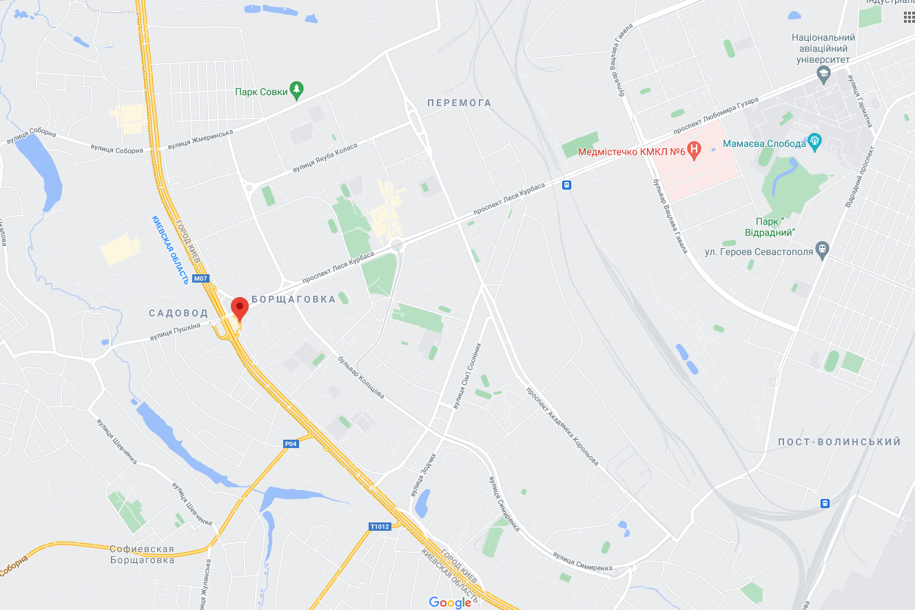 ДТП произошло на улице Зодчих возле Большой Окружной дороги.