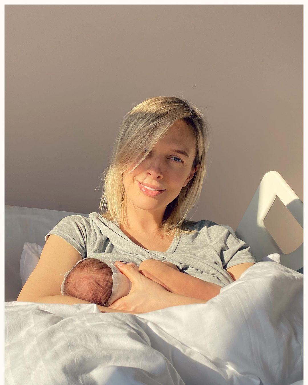 Василіса Фролова з сином