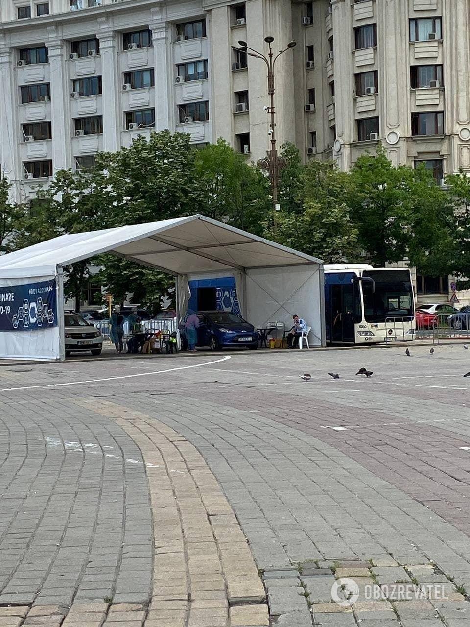 Количество ежедневных прививок в Бухаресте упало