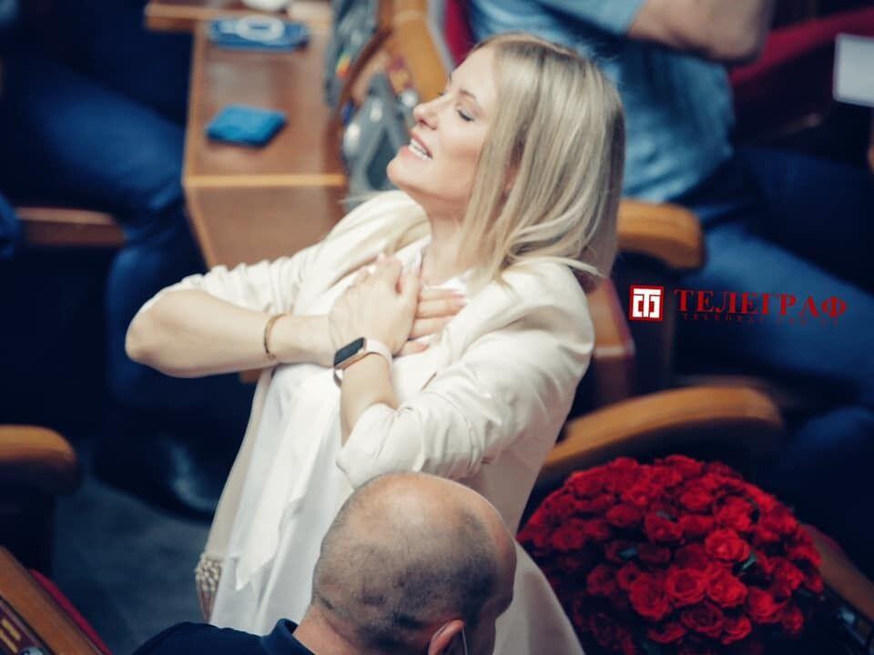 Юлія Гришина подякувала всім.