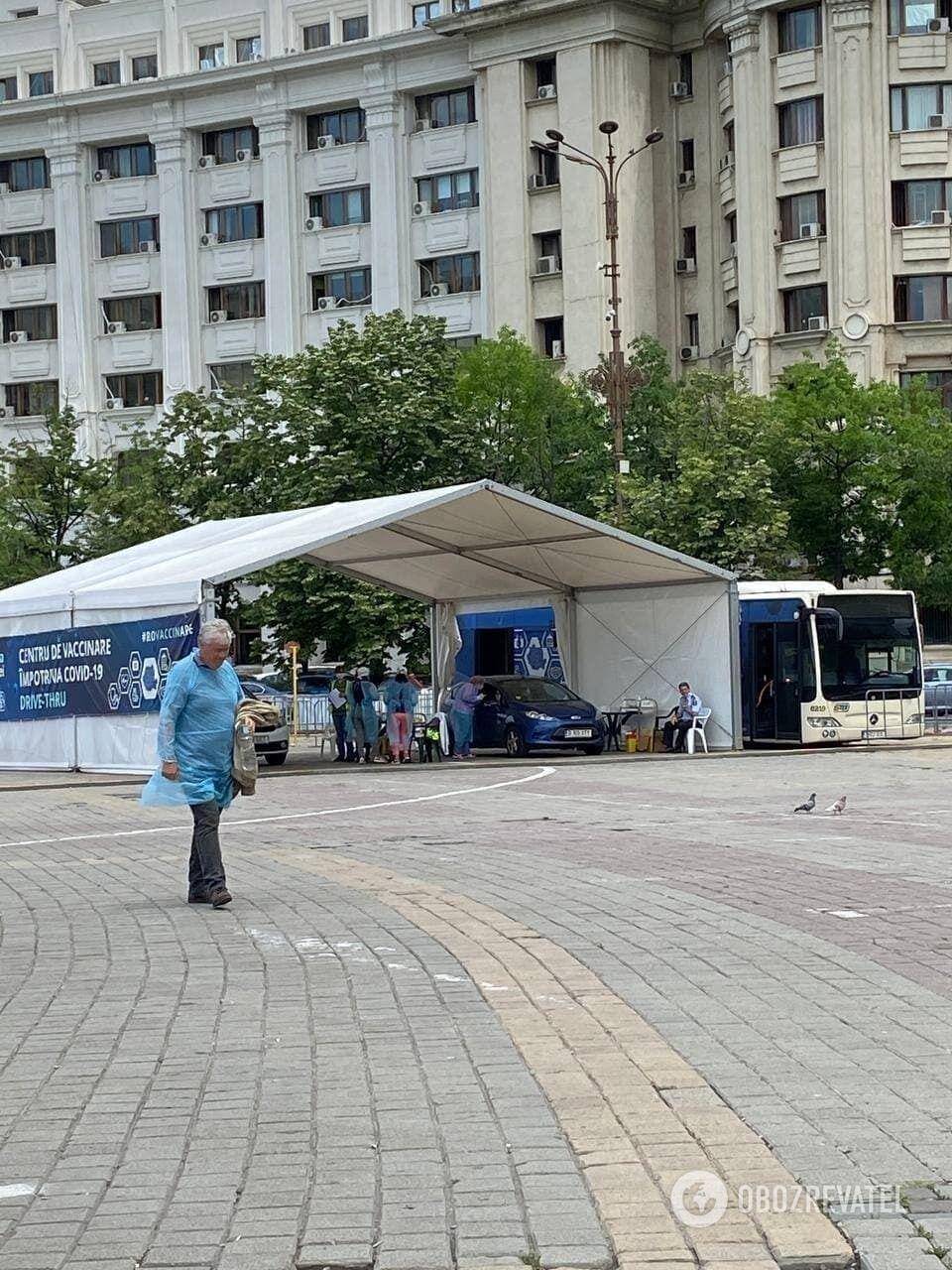 Центры вакцинации в Румынии стоят без работы