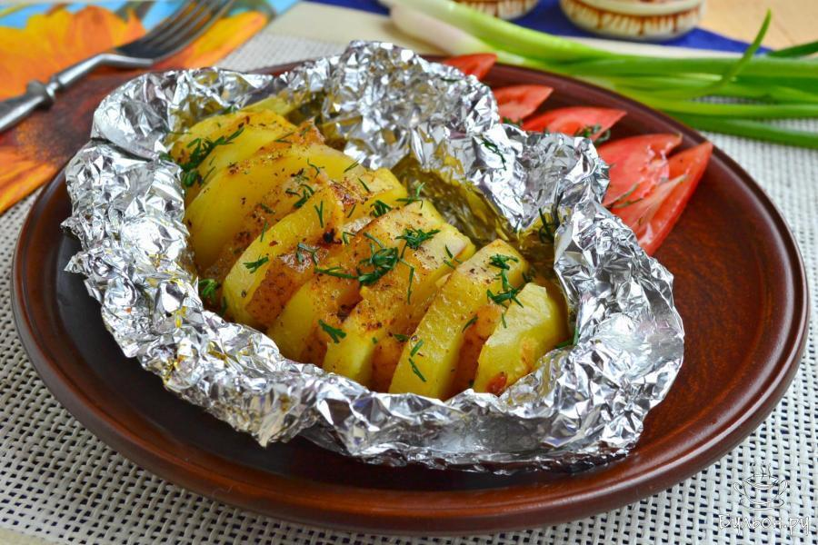 Картошка с салом