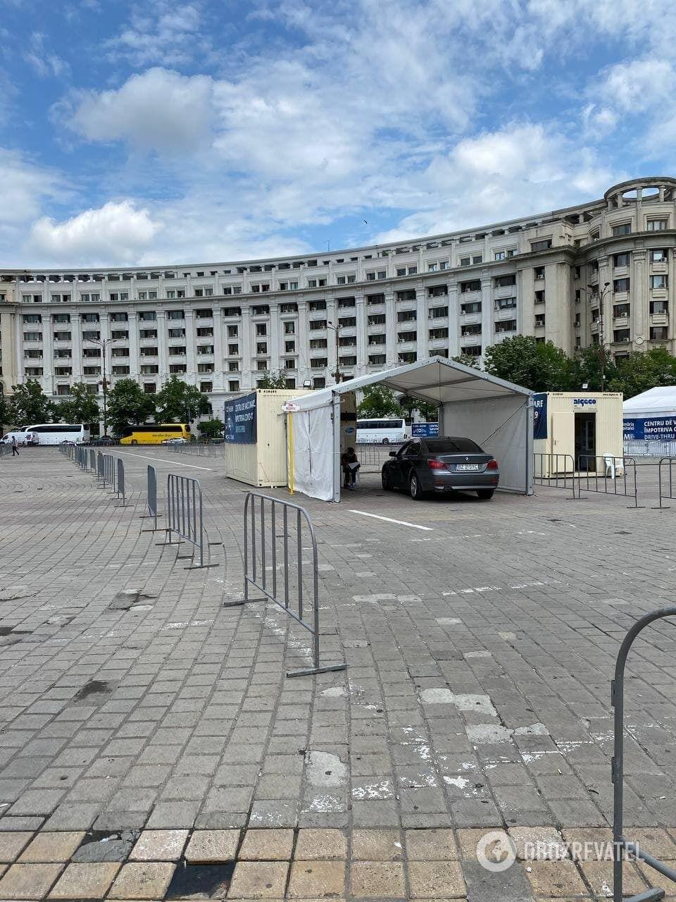Вакцинация в Бухаресте