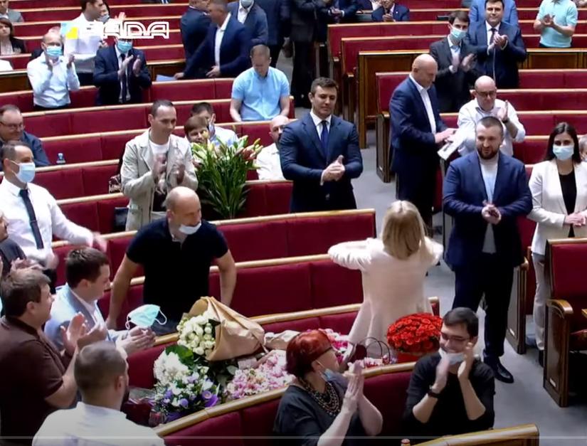 Юлія Гришина відзначила день народження.
