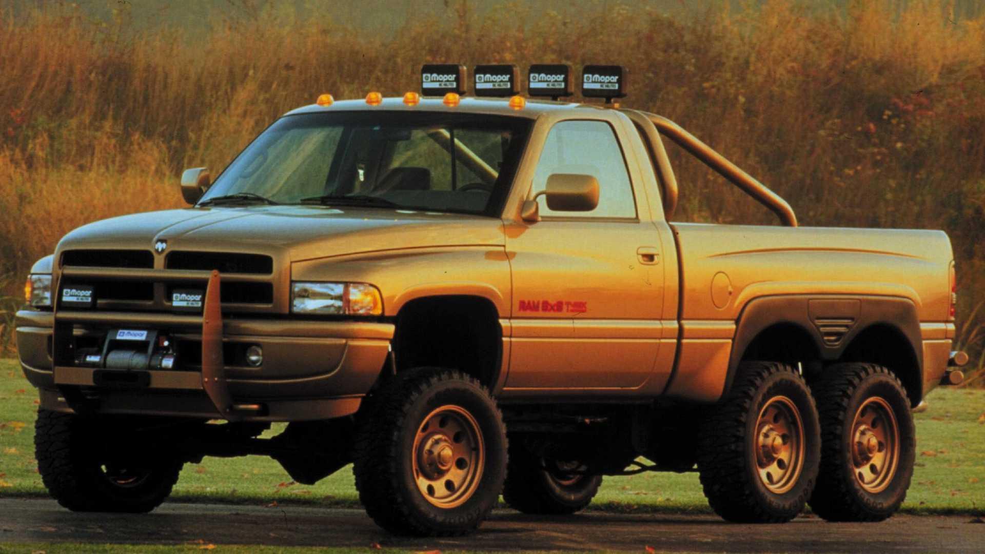 Dodge Ram T-Rex 6x6 – перший шестиколісний пікап