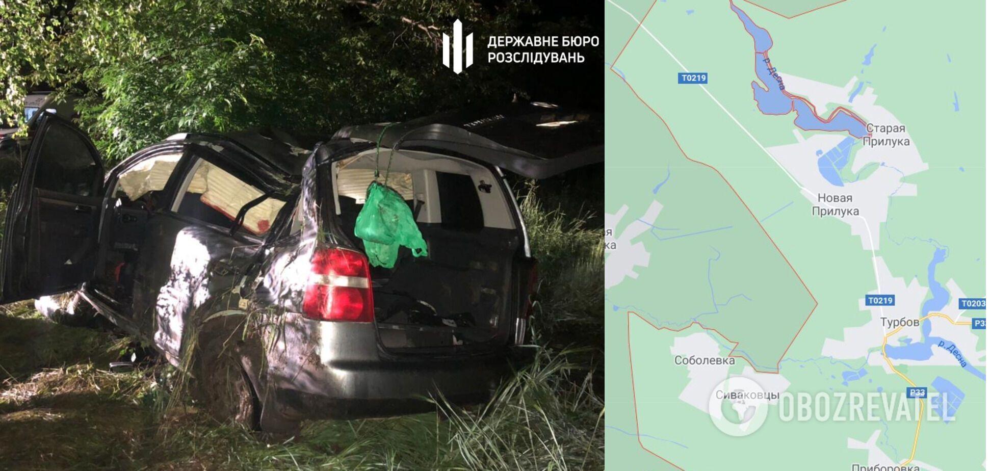 Авария произошла ночью 14 июня в Винницкой области