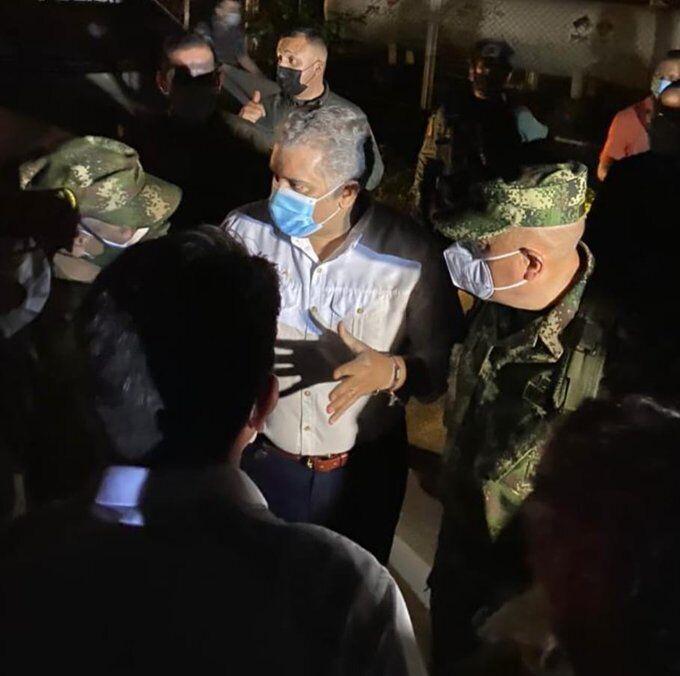 Президент Колумбії Іван Дуке прибув у місто Кукута.