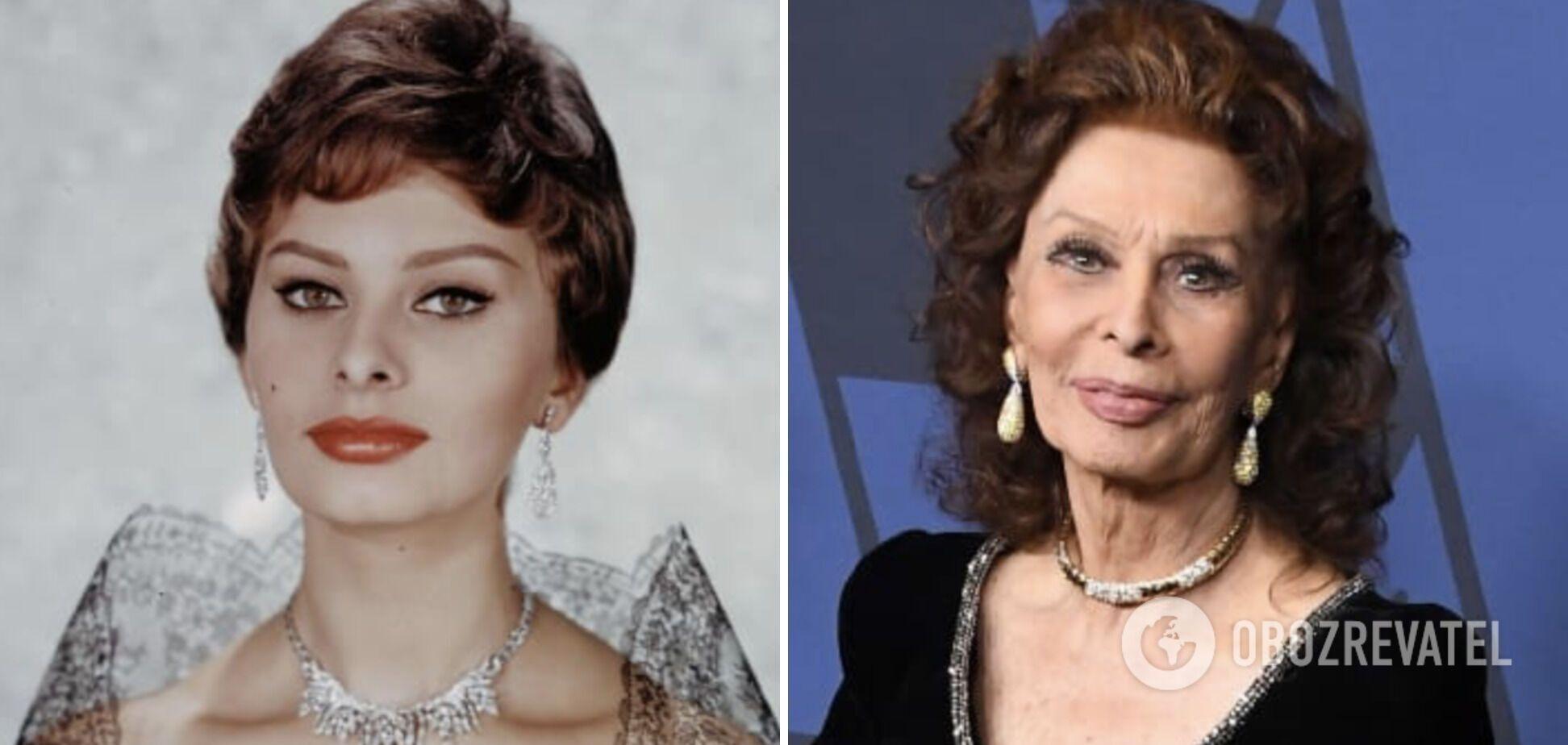 Софии Лорен сейчас 86 лет.