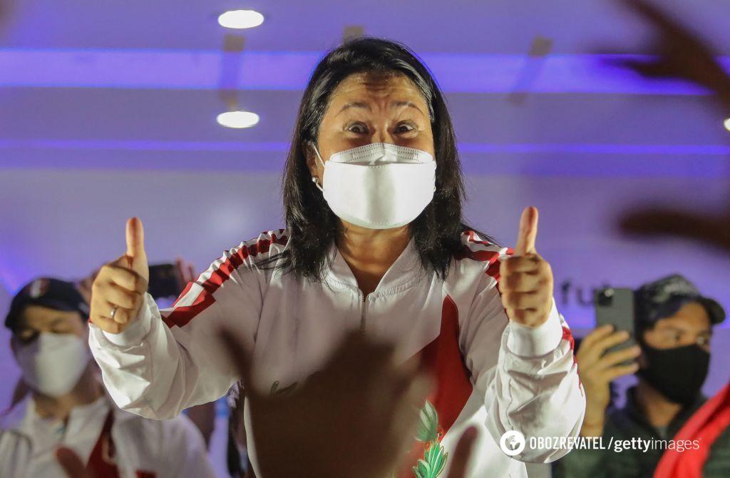 Кейко Фухимори поддержали 49,875% избирателей.