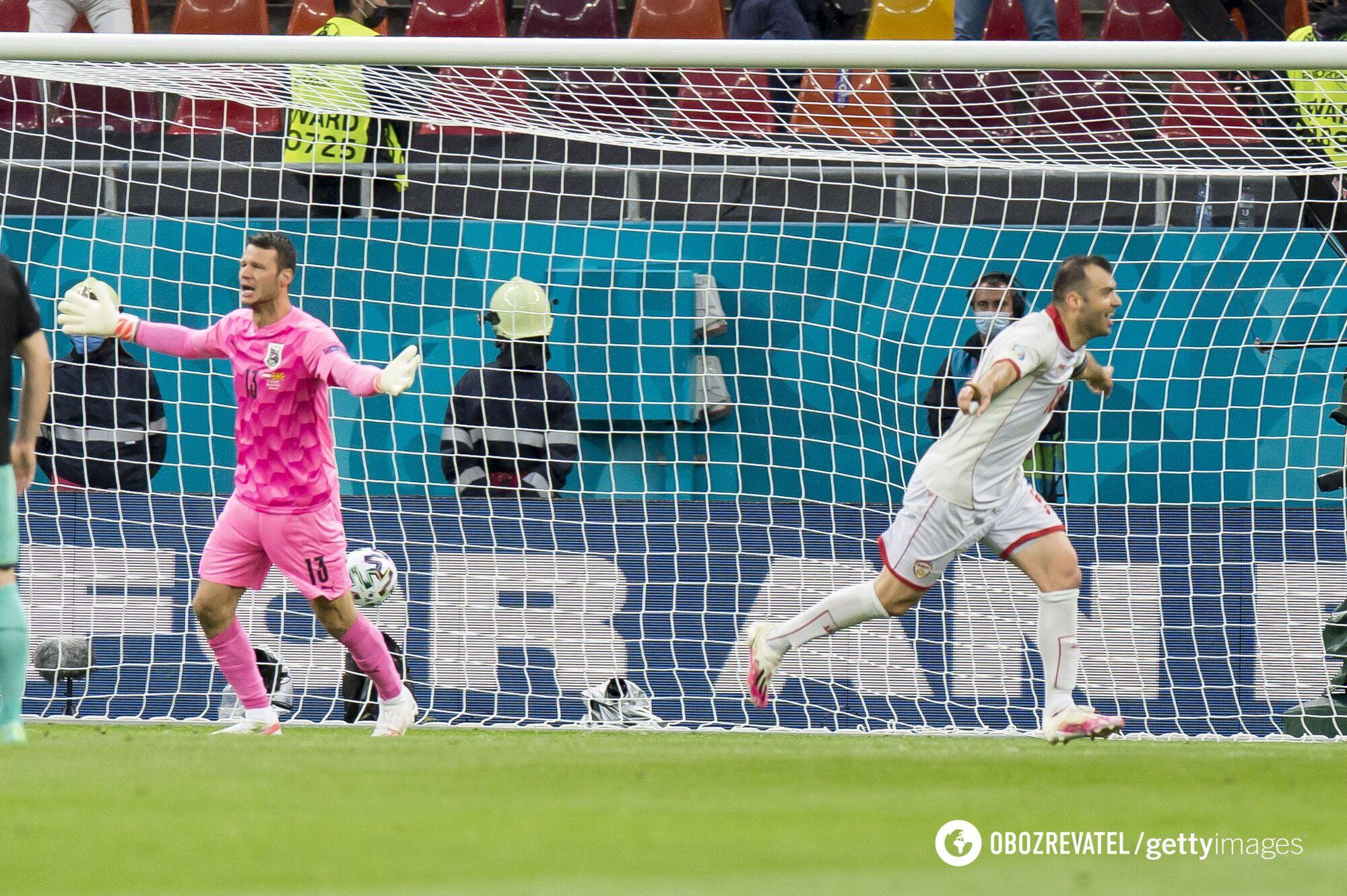 Пандев забил в стартовом матче Евро-2020.