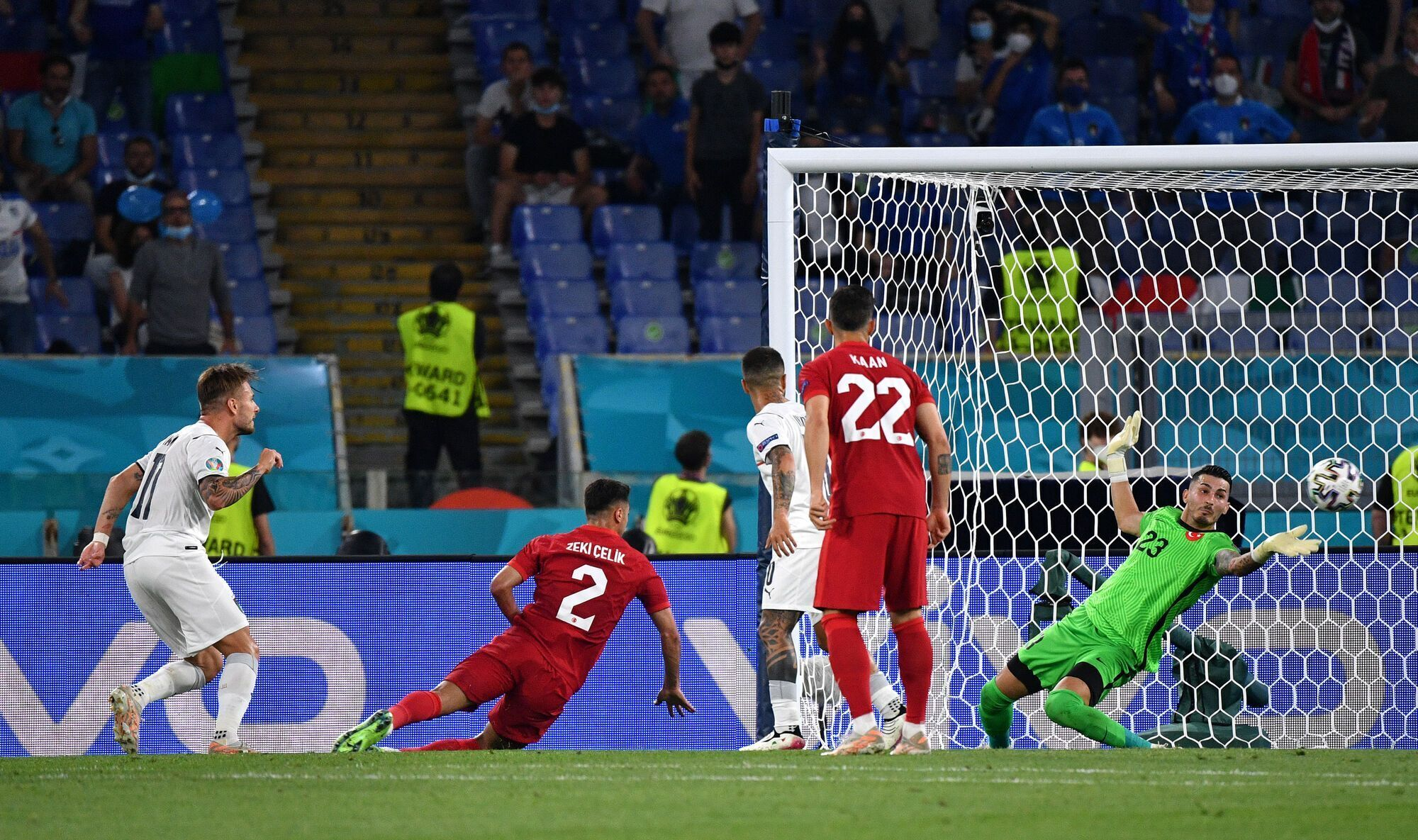Италия обыграла Турцию