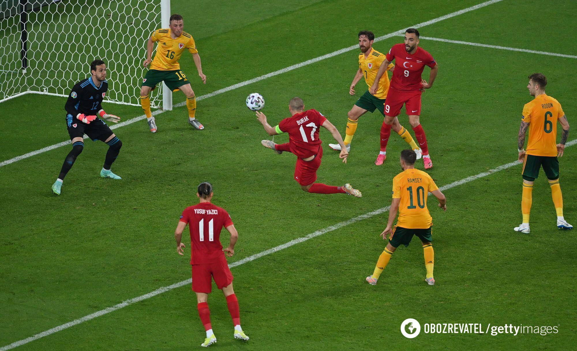 Збірна Туреччини пропустила на останніх секундах другий гол