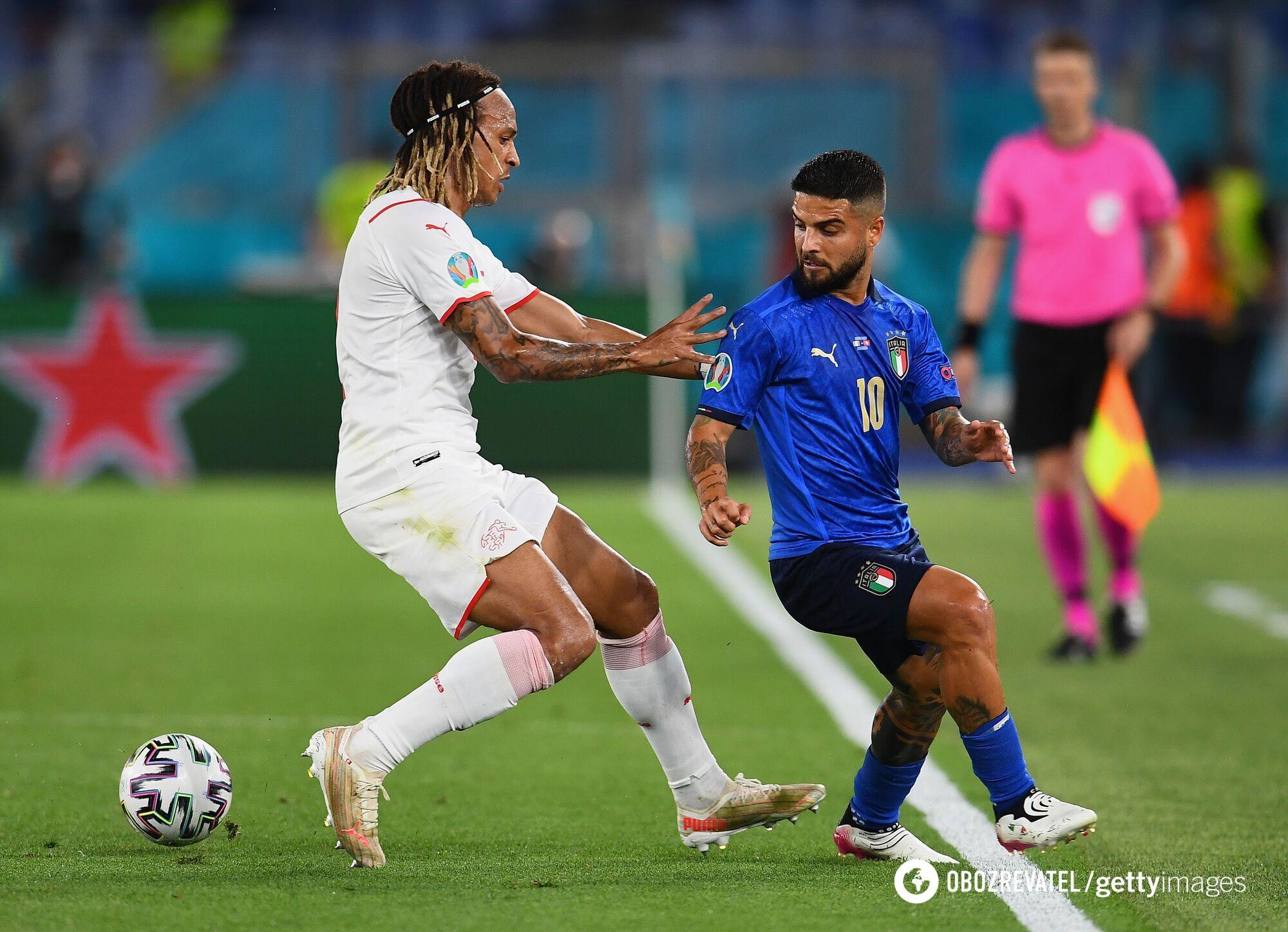 Италия победила Швейцарию